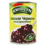 Квасоля Kwidzyn червона консервована 400г