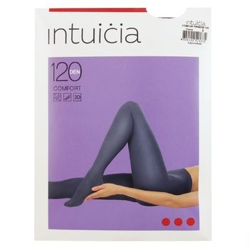 Колготи Інтуіція Comfort Premium жіночі чорні 120ден 3р - купити, ціни на Novus - фото 1