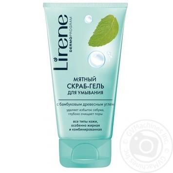 Gel-peel Lirene mint for face 150ml - buy, prices for Novus - image 1