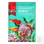 Корм сухой Topsi для аквариумных рыб Дафния 10г - купить, цены на Ашан - фото 1