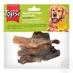 Лакомство для собак Topsi сухожилия говяжье сушеное