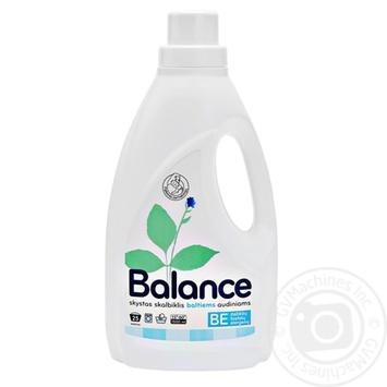 Засіб пральній рідкий для білих тканин Balance 1500мл - купити, ціни на Novus - фото 1