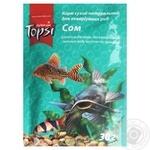 Корм сухой Topsi Сом для аквариумных рыб 30г