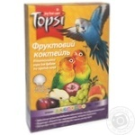 Topsi Fruit cocktail Food fortified for small and medium parrots 550g