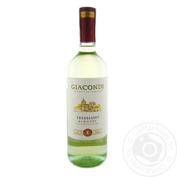 Вино Giacondi Trebbiano Rubicone IGT біле сухе 11,5% 0,75л - купити, ціни на Novus - фото 1