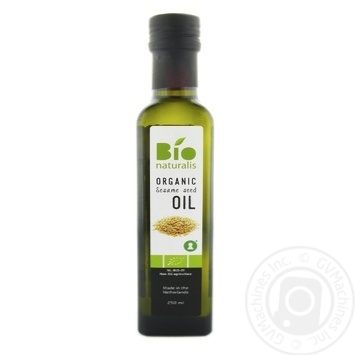 Олія з кунжуту Bionaturalis органічна нерафінована 250мл - купити, ціни на Novus - фото 1