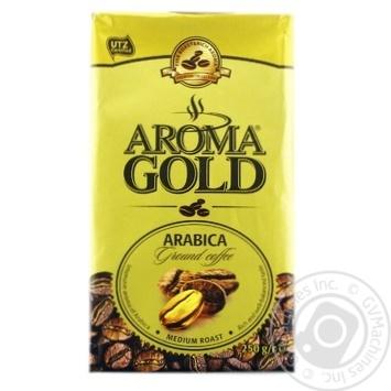 Кофе Aroma Gold молотый 250г