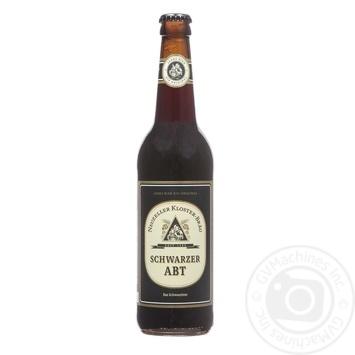 Пиво Kloster-Brau Schwarzer Abt темне 3,9% 0,5л - купити, ціни на Novus - фото 1