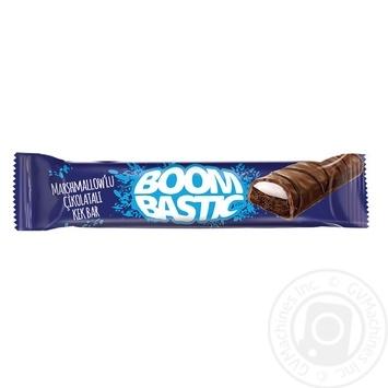 Кекс Boombastic с какао и маршмеллоу в молочном шоколаде 40г - купить, цены на Ашан - фото 1