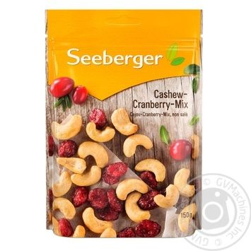 Seeberger Cashew And Cranberry Mix 150g - buy, prices for CityMarket - photo 1