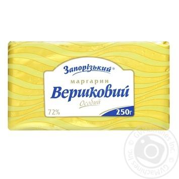 Маргарин Запорожский Молочный особый 70% 250г - купить, цены на Ашан - фото 1