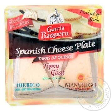 Carcia Baquero Manchego spanish Іberico 55% 150g - buy, prices for MegaMarket - image 3