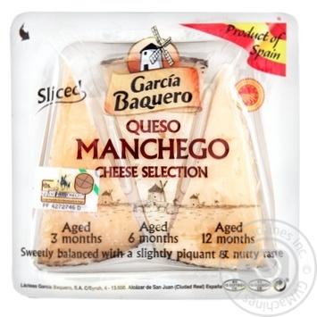 Carcia Baquero Manchego cheese collection 55% 110g - buy, prices for Novus - image 1