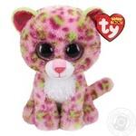 Игрушка мягкая TY Beanie Boo's розовый леопард 15см