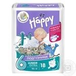 Підгузки дитяч Bella Baby Happy junior Extra 16+ кг 18шт