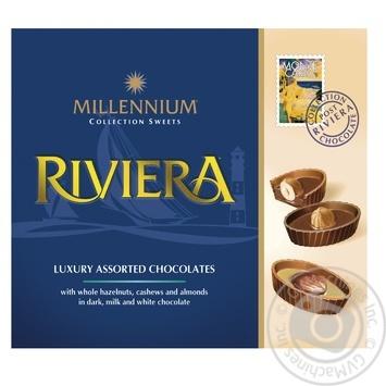 Цукерки Millennium Riviera 125г - купить, цены на Ашан - фото 1