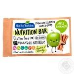 Батончик Healthy Tradition яблуко-кориця 38г - купити, ціни на МегаМаркет - фото 1