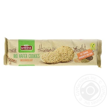 Печенье Lambertz семенами чиа, киноа и амаранта 150г