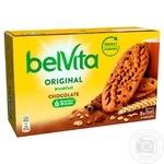 Печенье Belvita с шоколадом 225г
