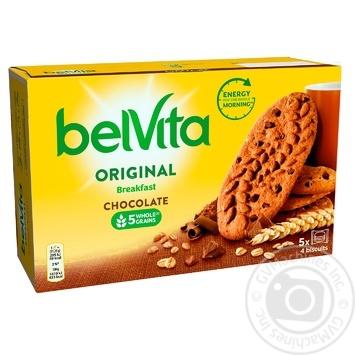 Печенье Belvita с шоколадом 225г - купить, цены на Восторг - фото 1