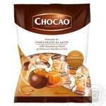 Конфеты Vergani Chocаo с кремовой начинкой со вкусом карамели в молочном шоколаде 125г