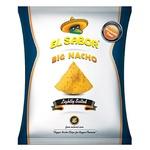 Чипсы El Sabor Начос Большие слабосоленые 100г