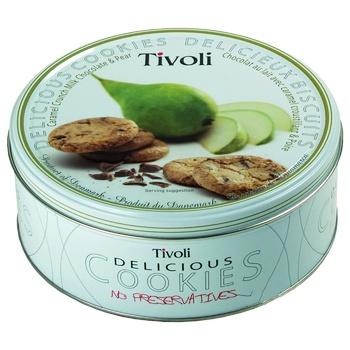 Печенье Tivoli Jacobsens Грушевое 150г - купить, цены на Novus - фото 1