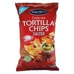 Чіпси Santa Maria Tortilla кукурудзяні солоні 185г