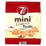 7Days Double Cocoa & Vanilla Mini Croissant - buy, prices for Novus - image 1