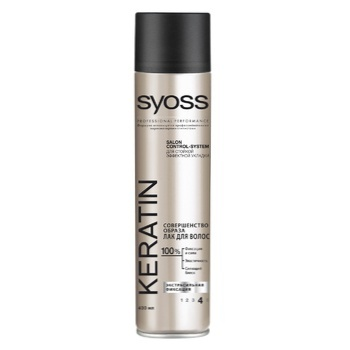 SYOSS Hairspray Keratin Extra Strong Fixation 400ml - buy, prices for Auchan - photo 1