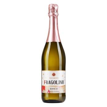 Вино игристое Sizarini Fragolino Bianco белое сладкое 7,5% 0,75л - купить, цены на СитиМаркет - фото 1