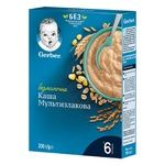 Gerber For Babies From 6 Months Multi Cereal Dairy-Free Porridge 200g