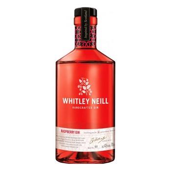 Джин Whitley Neill Raspberry Малина 43% 0,7л - купить, цены на Ашан - фото 1