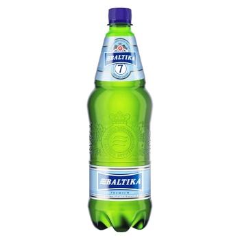 Пиво Балтика Експортне 7 світле 5,4% 0,9л