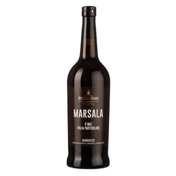 Вино Cantine Pellegrino Marsala Fine Italia Particolare біле напівсолодке 17% 0,75л