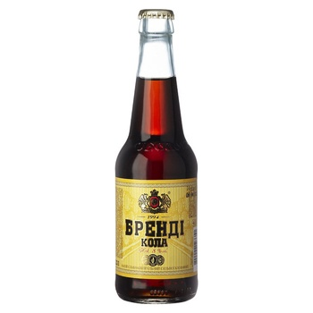 Obolon Brandy Сola Low-Alcohol Strongly Carbonated Drink 8% 0,33l - buy, prices for Novus - image 1