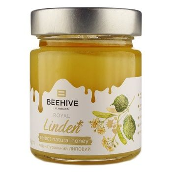 Beehive Natural Linden Honey 250g - buy, prices for Novus - image 1