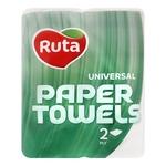 Ruta White Paper Towels 2layer 2pcs