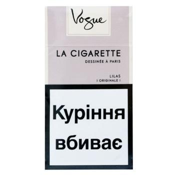 Цигарки Vogue Lilas Ultra Light - купити, ціни на Восторг - фото 1