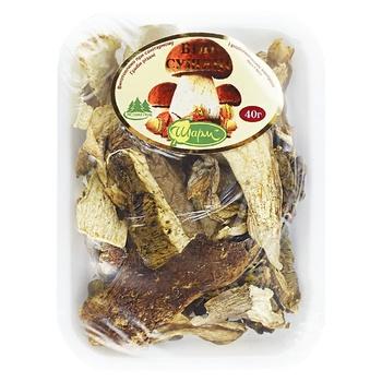 Грибы Шарм Белые сушеные 40г - купить, цены на Ашан - фото 1