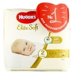 Подгузники Huggies Elite Soft 2 4-6кг 25шт