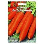 Семена Семена Украины Морковь Витаминная 20г