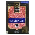 Колбаса Gremio de la Carne Скандинавия полукопченая в/с нарезка 100г