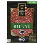 Колбаса Gremio de la carne Милано полукопченая нарезанная в/с 100г
