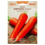 Семена Семена Украины MAXI Морковь Королева осени 10г