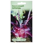 Семена Элитсортсемена Капуста Кольраби Пурпурная 0,5г