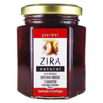 Варенье  Zira айвовое с ванилью натуральное 200г