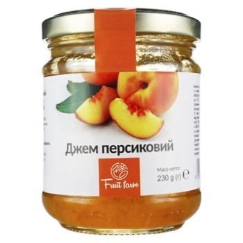 Fruit Farm Peach Jam 230g