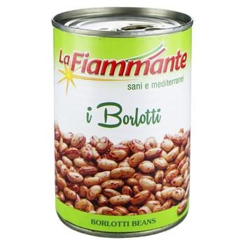 Фасоль La Fiammante борлотти 400г