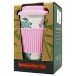 Чашка BroKbridge D-2 из бамбука 400мл